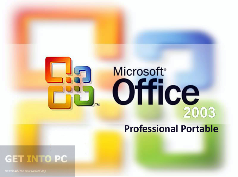 Office 2003 Professional Portable Latest Version Download