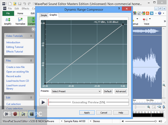 WavePad Sound Editor Master Edition Latest Version Downlaod