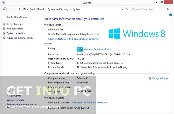 Windows 8.1 OEM Core Single Language 64 Bit Latest Version Download