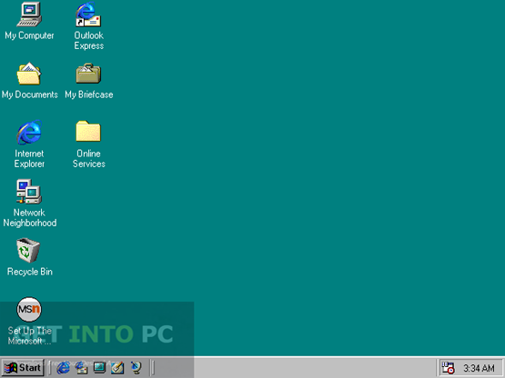 Windows 98 free download for Window 98 iso