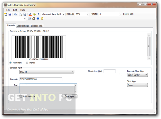💐 Barcode generator software free download windows xp