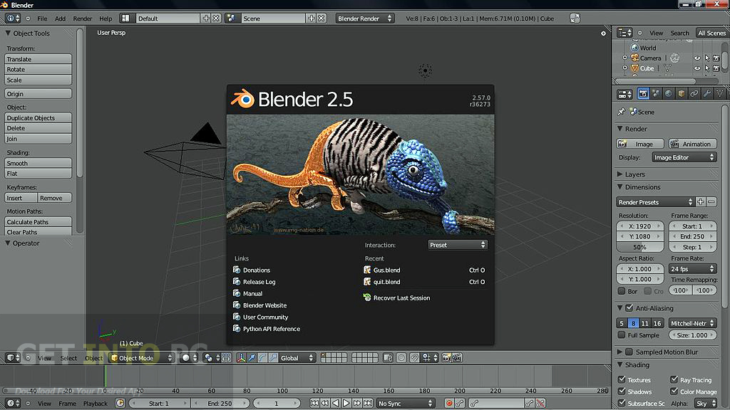 Blender Offline Installer Download