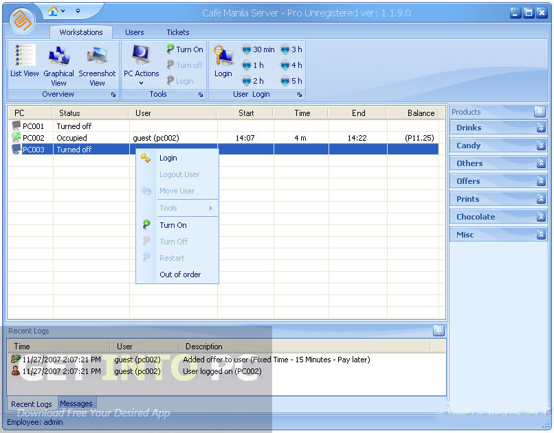 Cafe Manila Software Latest Version Download