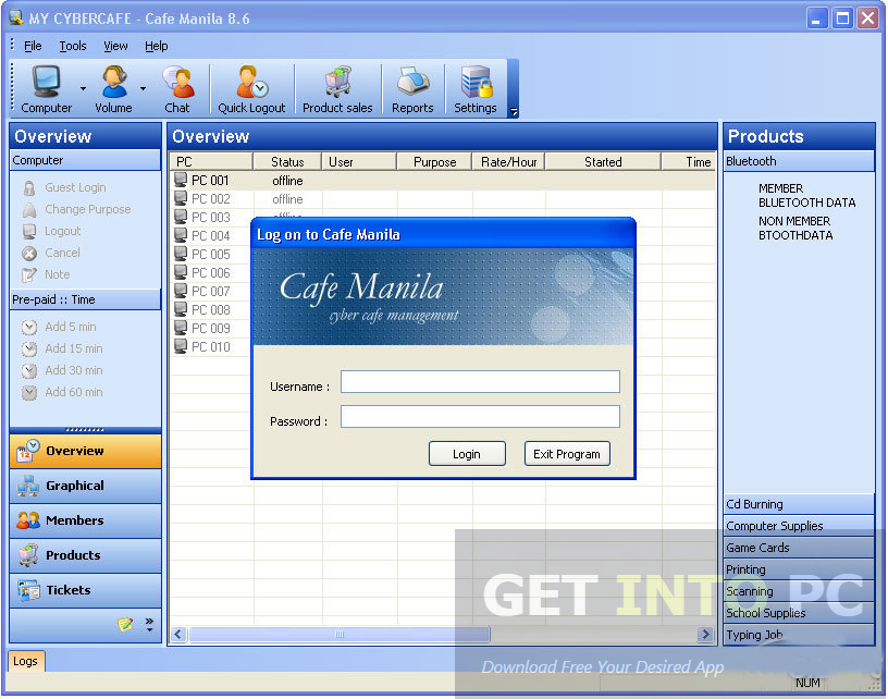 Cafe Manila Software Offline Installer Download