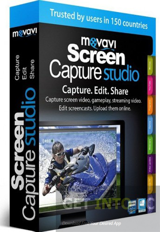 Download Movavi Screen Capture Studio For Windows