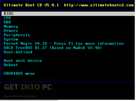FlaconsFours Ultimate Boot CD Free Download