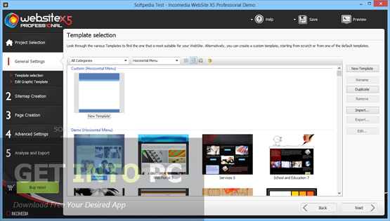 Incomedia WebSite X5 Professional Direct Link Download