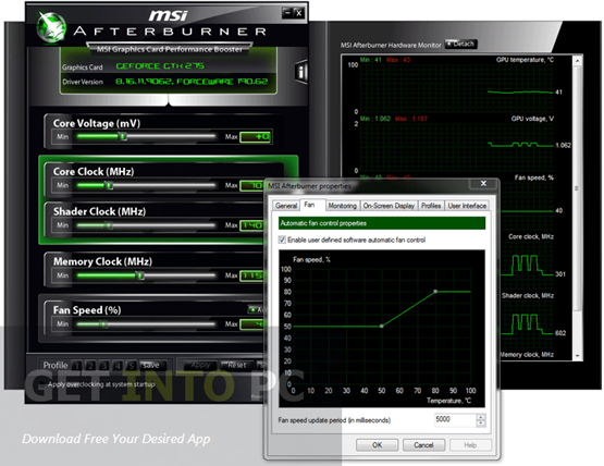 MSI Afterburner Offline Installer Download