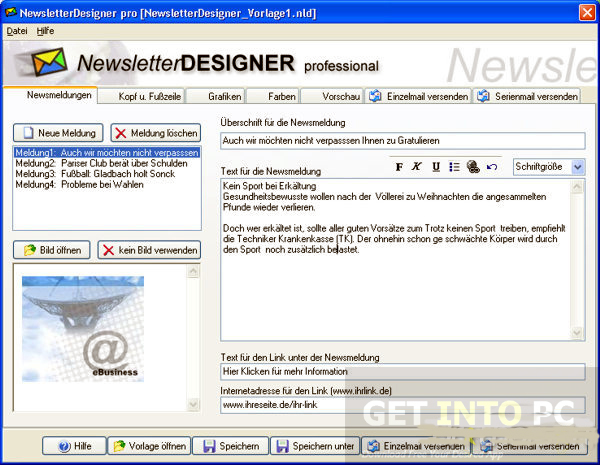 NewsletterDesigner Pro Offline Installer Download