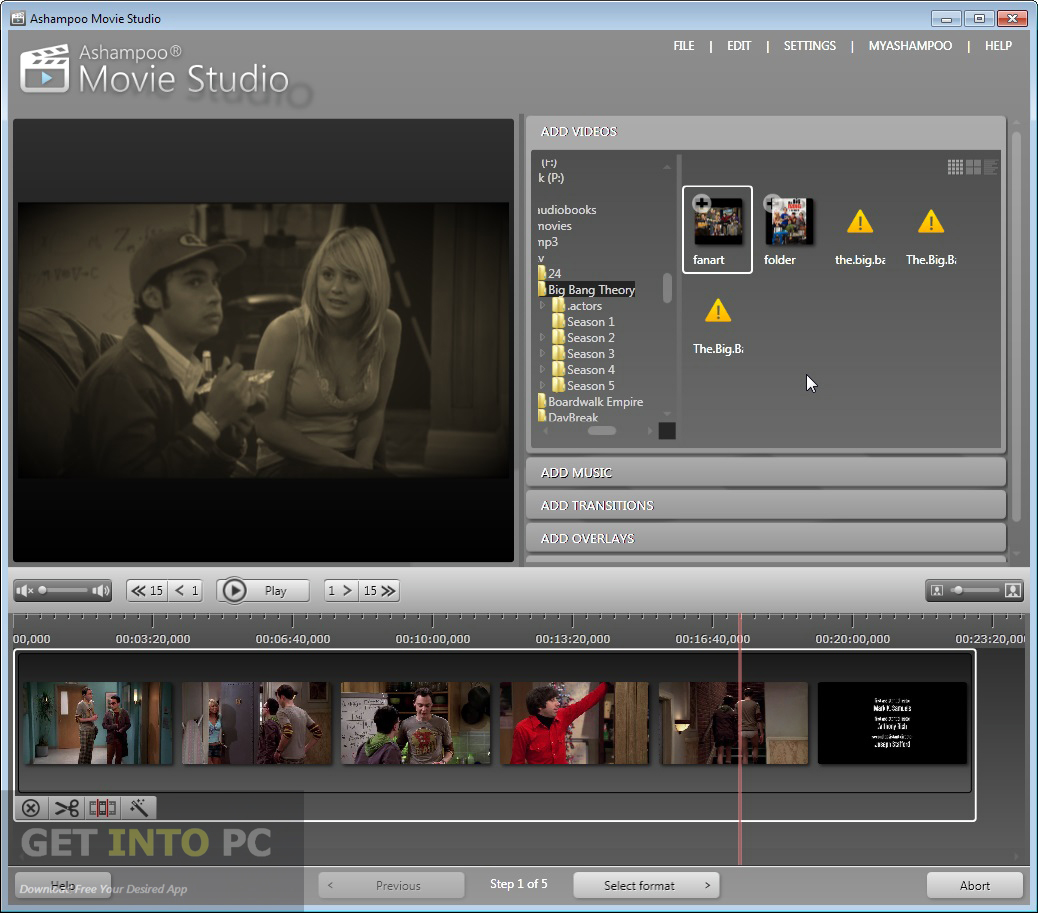Portable Ashampoo Movie Studio Pro Offline Installer Download