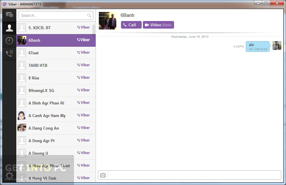 Viber 5.0.1 For PC Offline Installer Download
