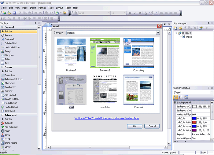 WYSIWYG Web Builder Latest Version Download