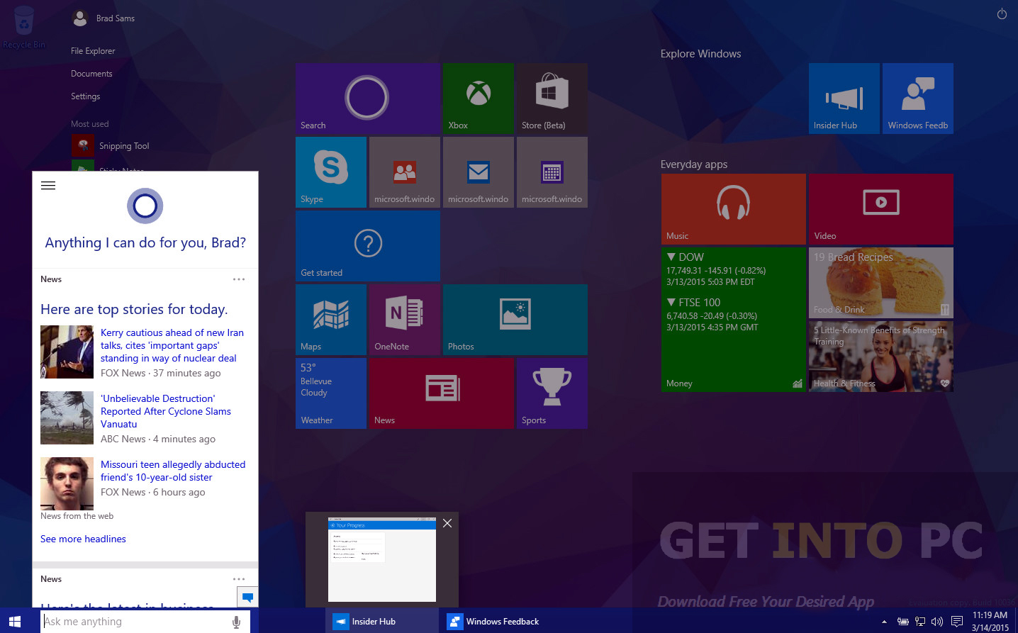 Windows 10 Build 10036 Offline Installer Download