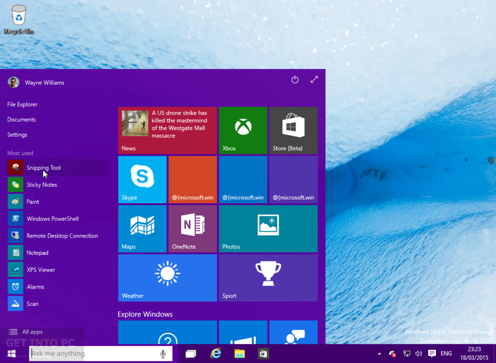 Windows 10 Pro Build 10041 Offline Installer Download