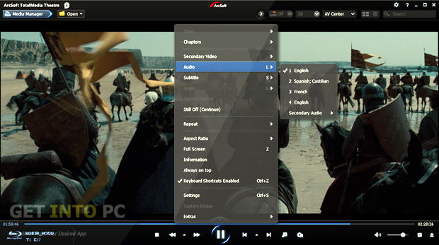 Arcsoft TotalMedia Theatre Download For Free