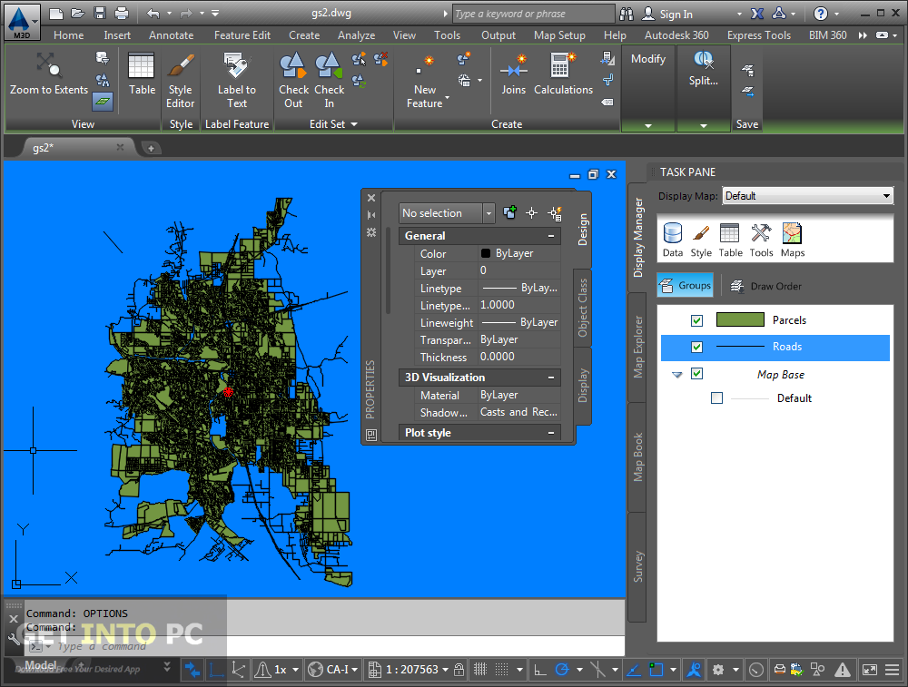 AutoCAD MAP 3D 2016 32 64 Bit ISO Free Download