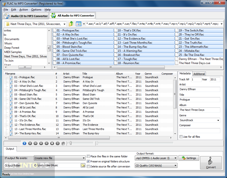 FLAC to MP3 - Convert your FLAC to MP3 for Free Online