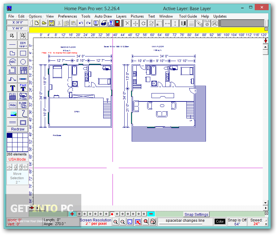 Home plan pro free download for Home architect design software free download