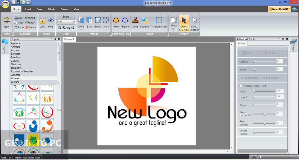 Image gallery logo design studio pro Free vector program mac