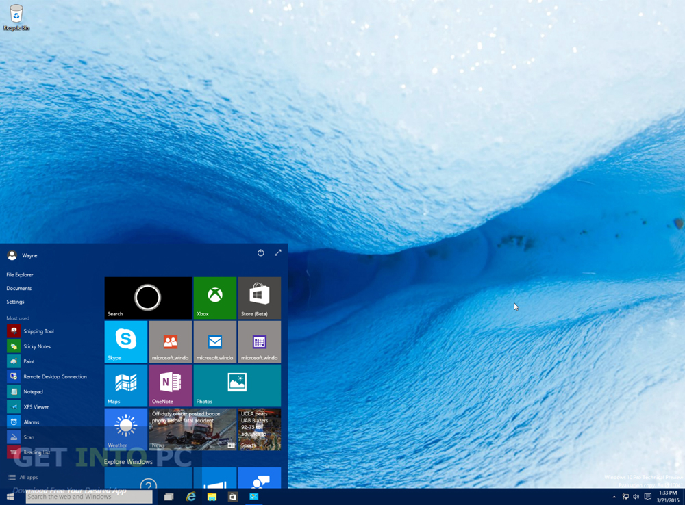 Windows 10 Build 10061 ISO 32 64 Bit Offline Installer Download