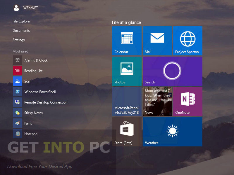 Windows 10 Pro ISO Build 10056 64 Bit Direct Link Download