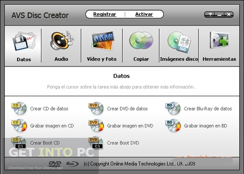 AVS Disc Creator Free Download