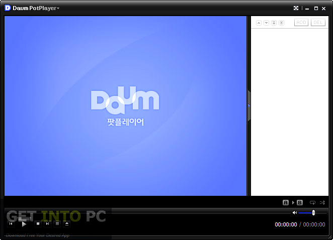 Daum PotPlayer Offline Installer Download