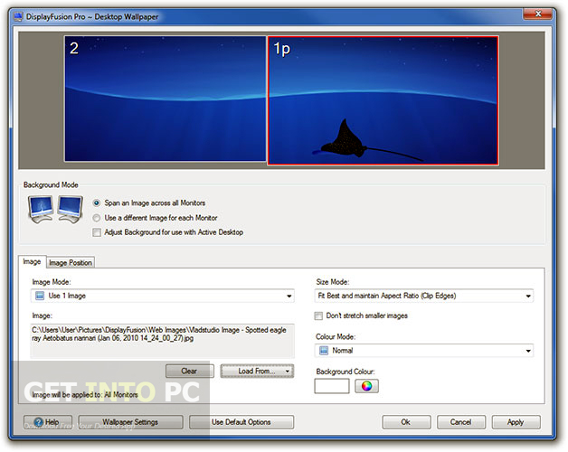 Download DisplayFusion Pro Portable Setup exe