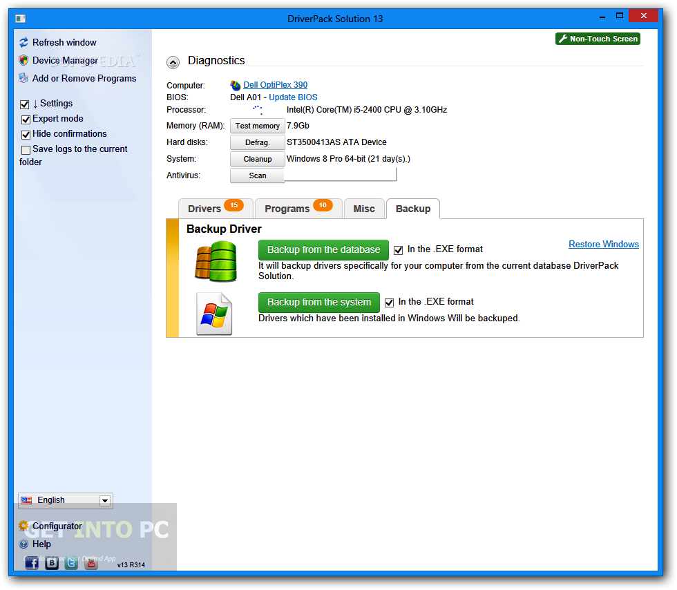 DriverPack Solution 15.5 Direct Link Download