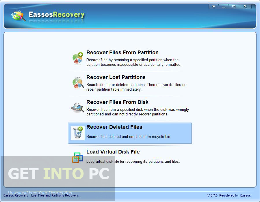 Eassos Recovery Direct Link Download