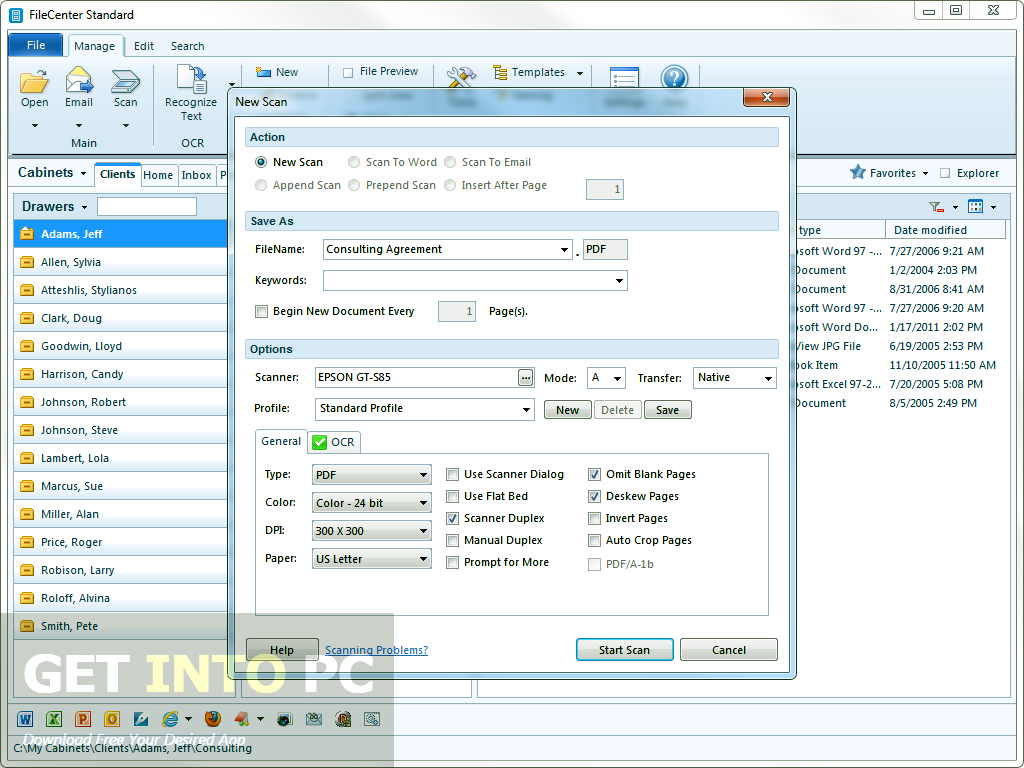 FileCenter Professional Latest Version Download