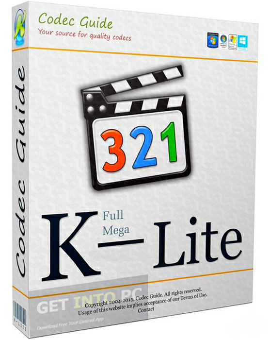 K-lite codec pack скачать.