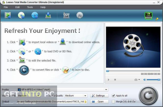 Leawo Total Media Converter Ultimate Download For Free