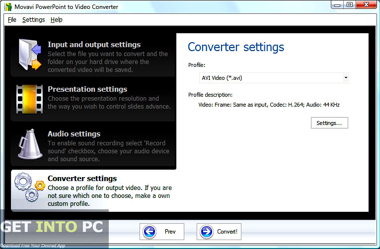 Movavi PowerPoint to Video Converter Offline Installer Download
