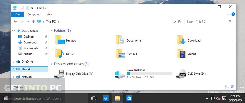 Windows 10 Build 10125 ISO 32 64 Bit Download For Free