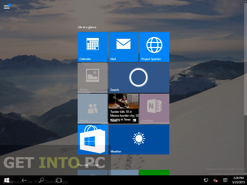 Windows 10 Build 10125 ISO 32 64 Bit Latest Version Download