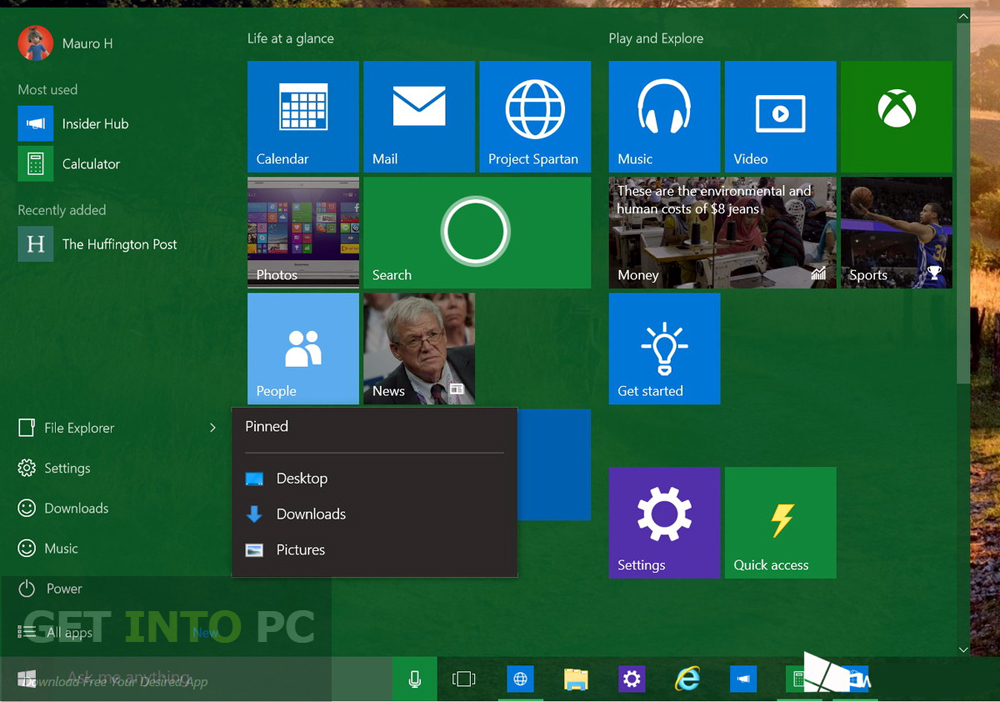 Windows 10 Build 10130 ISO 32 64 Bit Offline Installer Download