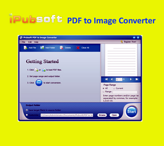 iPubsoft PDF to Image Converter Free Download