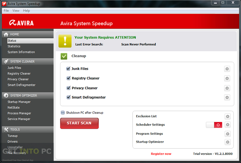 Avira System Speedup Direct Link Download
