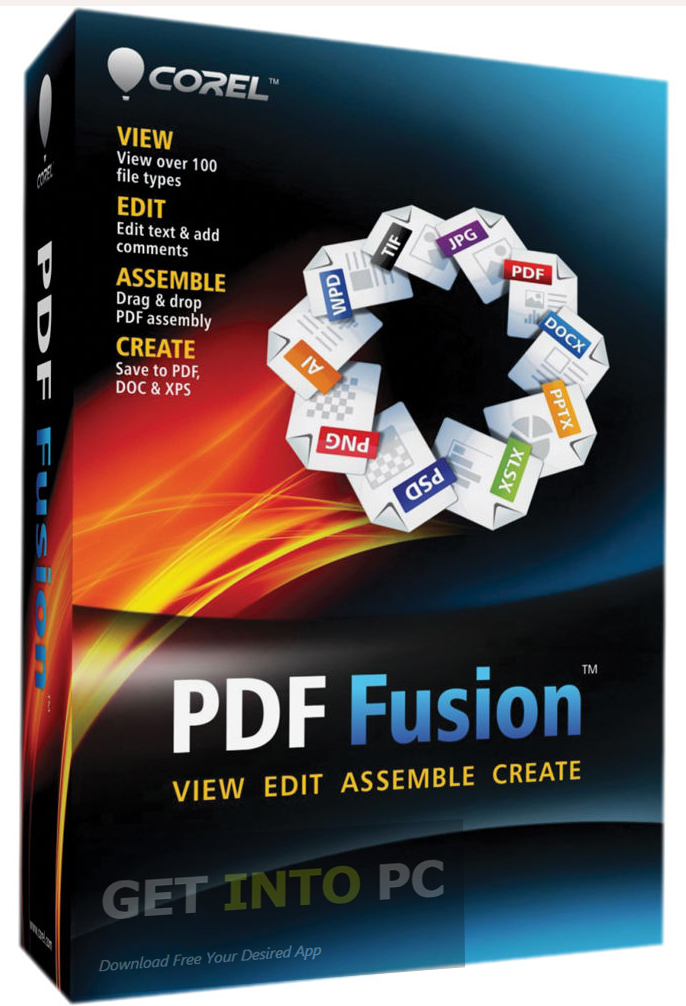 Corel PDF Fusion Free Download