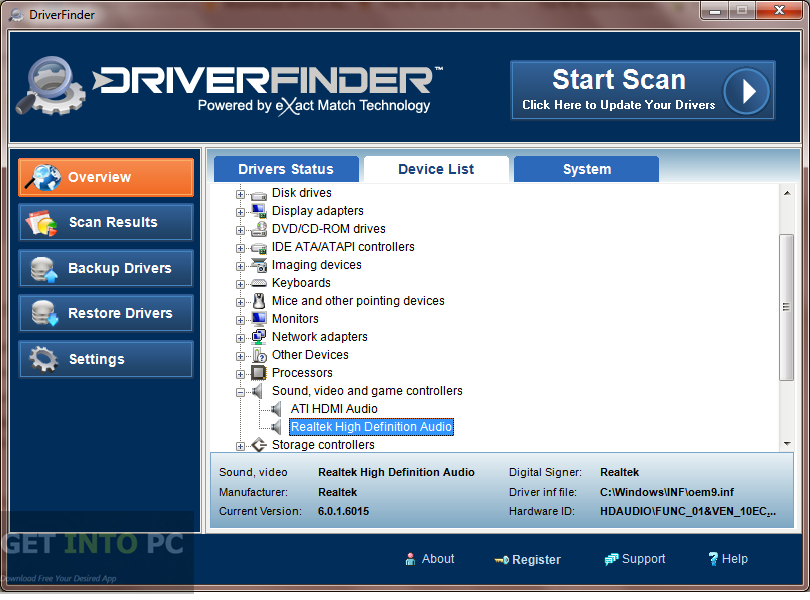 DriverFinder Latest Version Download
