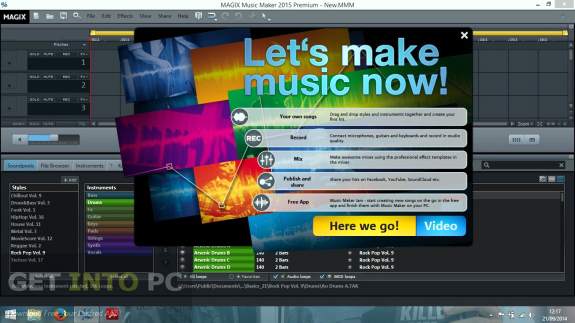 MAGIX Music Maker 2015 Premium ISO Direct Link Download