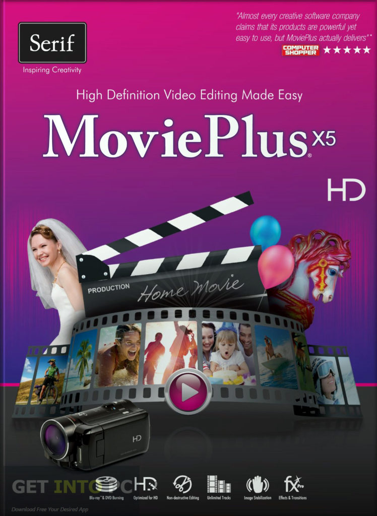 Serif MoviePlus X5 Free Download