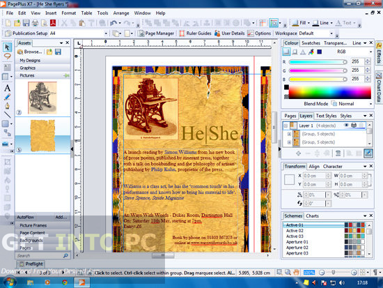Serif PagePlus X7 ISO Direct Link Download