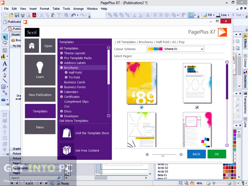 Serif PagePlus X7 ISO Download For Free