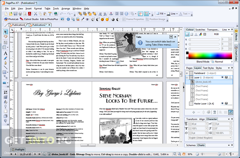 Serif PagePlus X7 ISO Latest Version Download