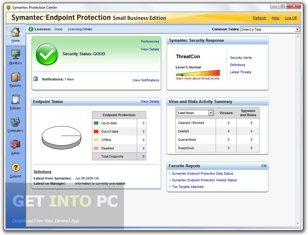 symantec endpoint protection offline update free download