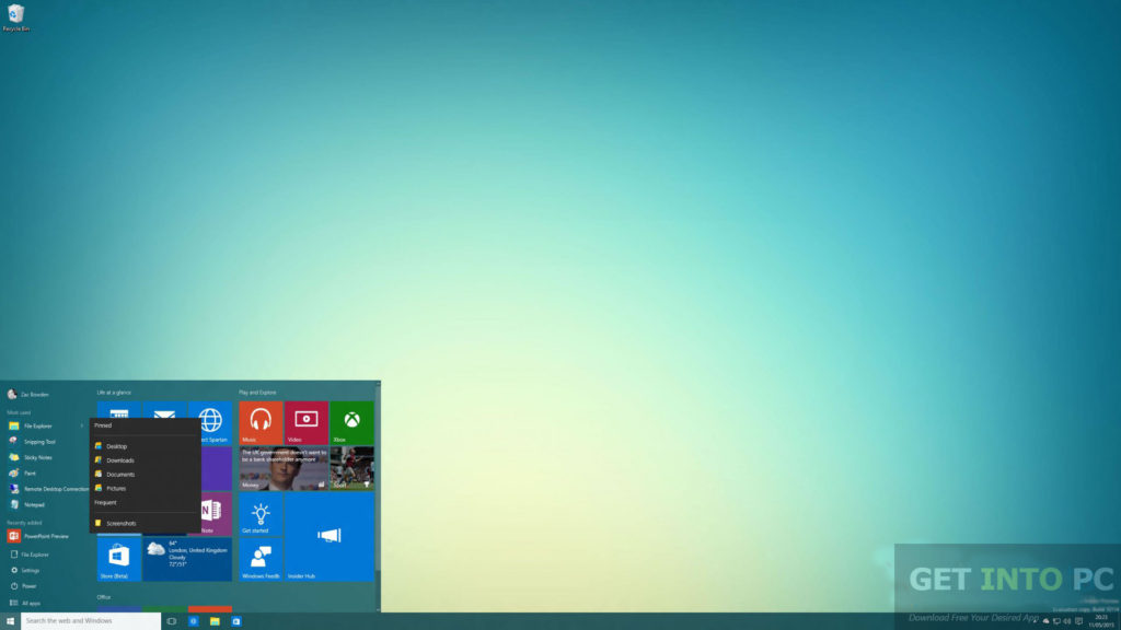 Windows 10 Build 10135 ISO 32 64 Bit Offline Installer Download