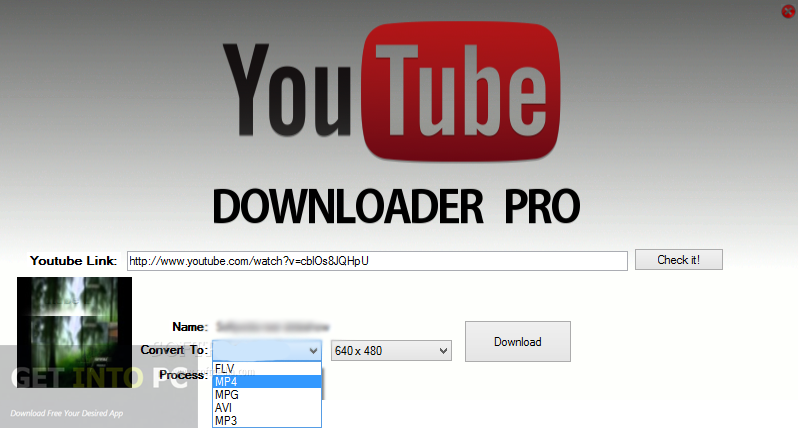 YouTube Downloader Pro YTD 4.8.1.0 Free Download