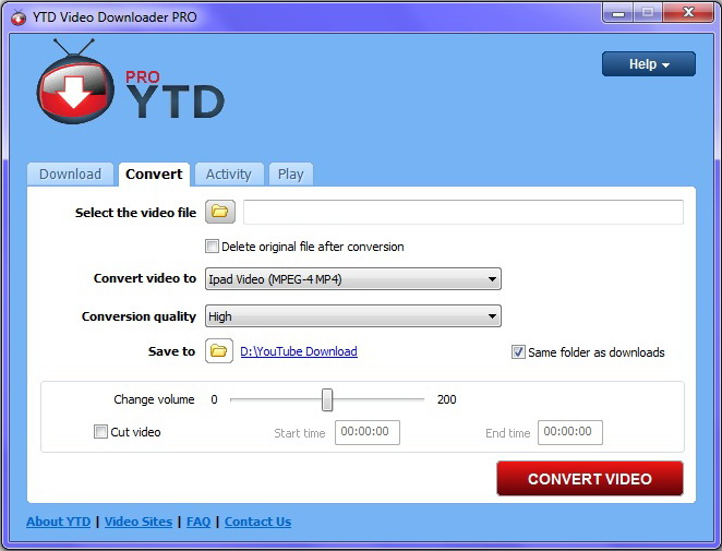 YouTube Downloader Pro YTD 4.8.1.0 Latest Version Download